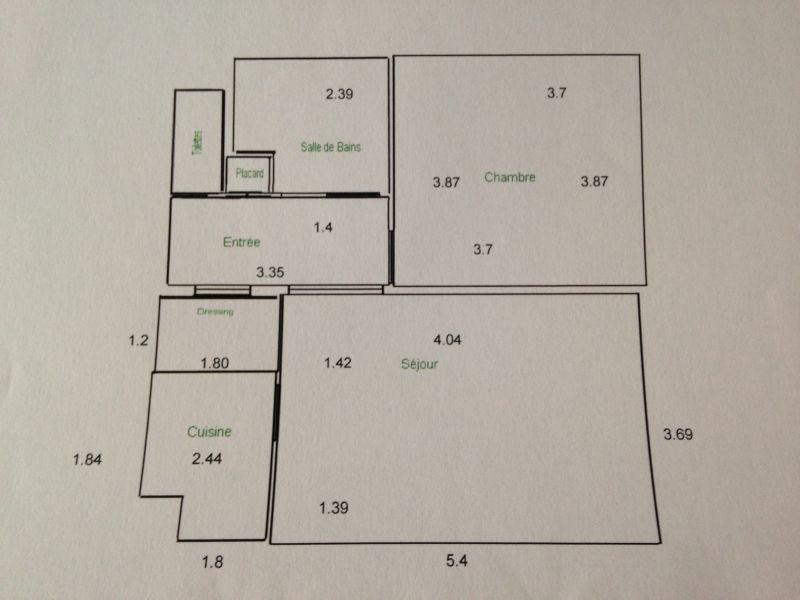 A VENDRE GRASSE (06) appartement 2 pièces de 52 m² dans résidence services séniors JARDINS D'ARCADIE