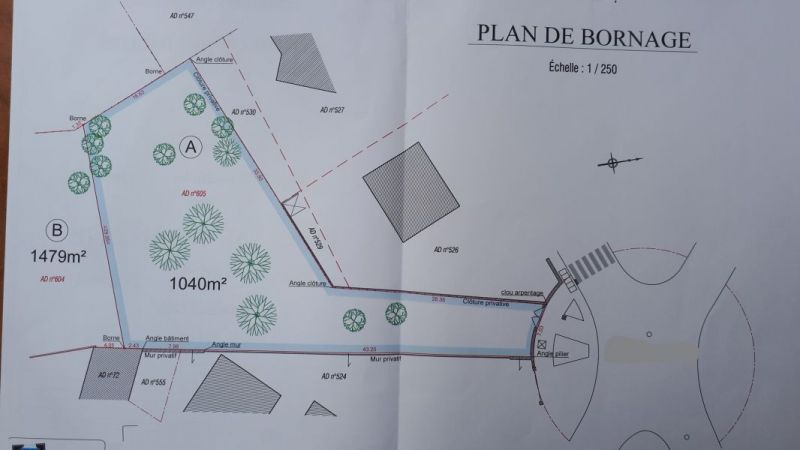 LIMOURS (91) CENTRE VILLE - TERRAIN A CONSTRUIRE de 1040m²