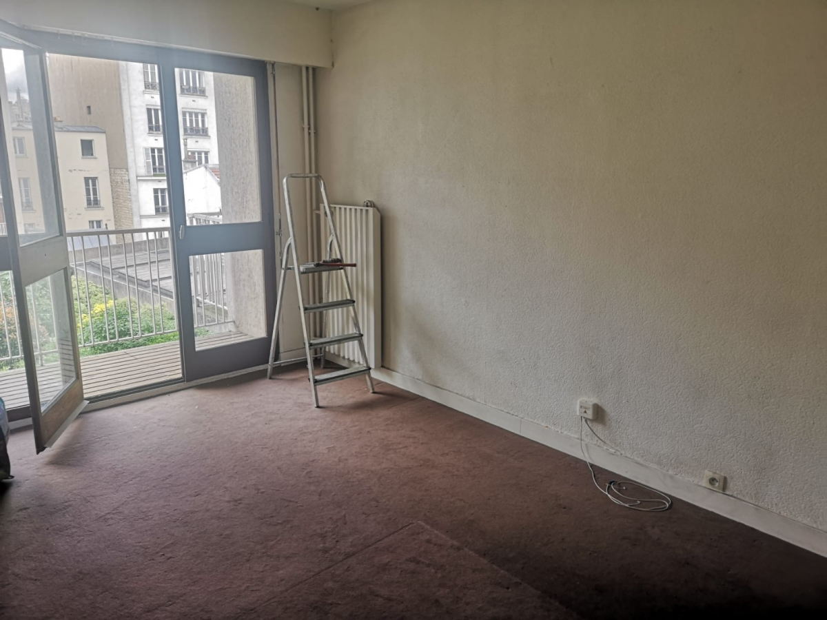 75018 - JULES JOFFRIN : Studio avec balcon dans un écrin de verdure